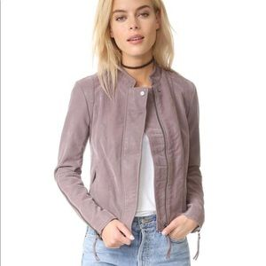 Free People Faux Leather/Suede Jacket